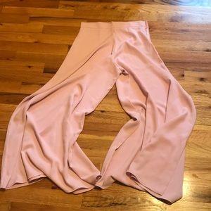 Flowy Pink Chiffon Pants